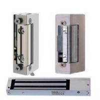 Electromagnetic locks, door strikes