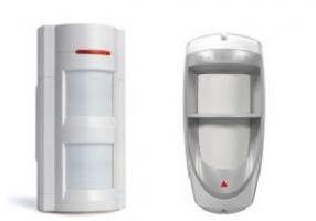 Outdoor motion detectors