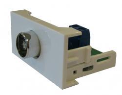 Plate 45x22,5 with TV socket REHAU-TV